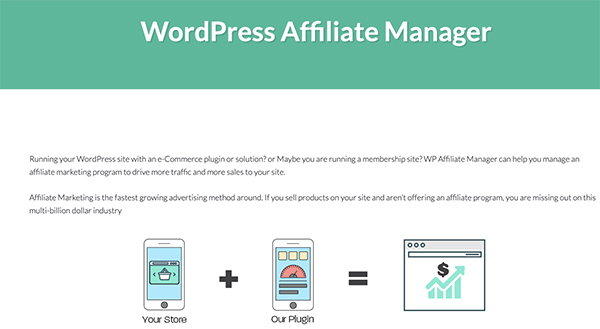 Plugin WordPress Affiliate Manager