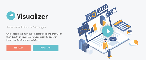 visualizer tables and charts manager