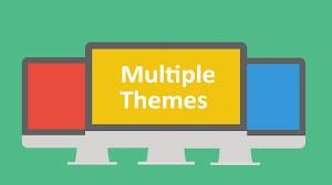 cài đặt plugin multiple themes
