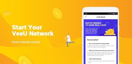 veeu app ứng dụng kiếm tiền trên điện thoại