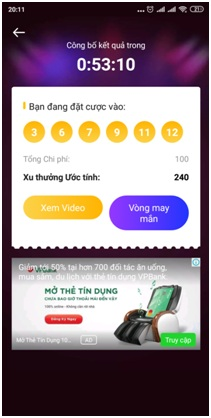 chơi xổ số VeeU App