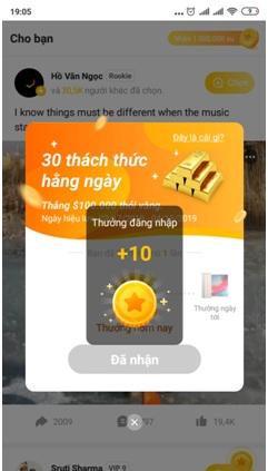 thông báo VeeU App