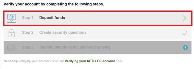 Đăng ký tài khoản thanh toán Neteller