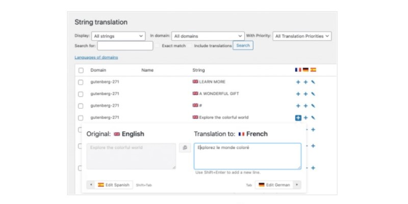 Dịch một chuỗi trong WPML