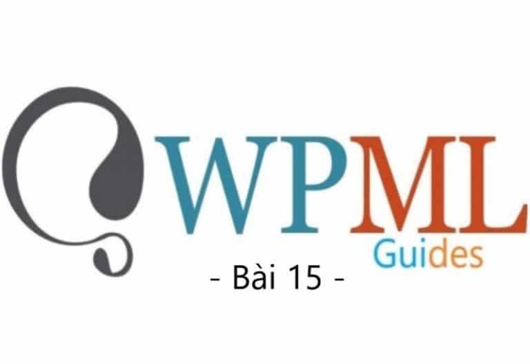 Hướng dẫn cấu hình WPML (Bài 15)